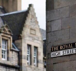 Royal Mile, en Edimburgo 1
