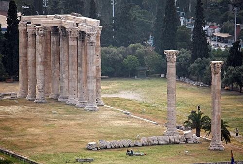 Templo de Zeus Olímpico, en Atenas 3