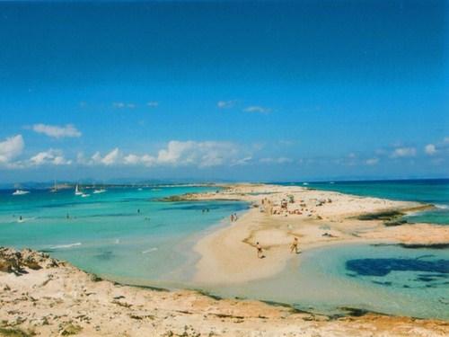 La Isla de Espalmador en Formentera