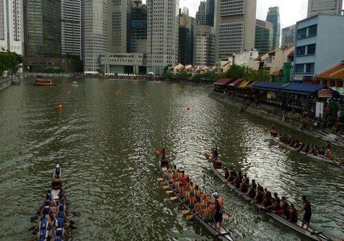 La Fiesta de los Barcos Dragones en Singapur 5