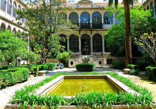 El Palacio de las Columnas en Granada 6