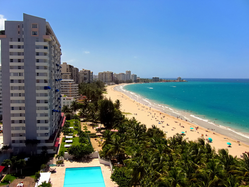 Las playas de San Juan de Puerto Rico