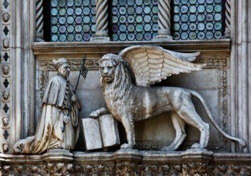 El León de San Marcos, símbolo de Venecia 2