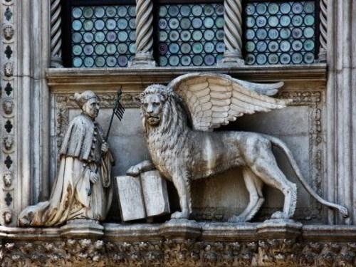 El León de San Marcos, símbolo de Venecia