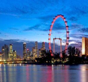 Singapur Flyer, la noria mirador más alta del mundo 1