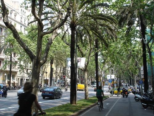 La Avenida Diagonal en Barcelona