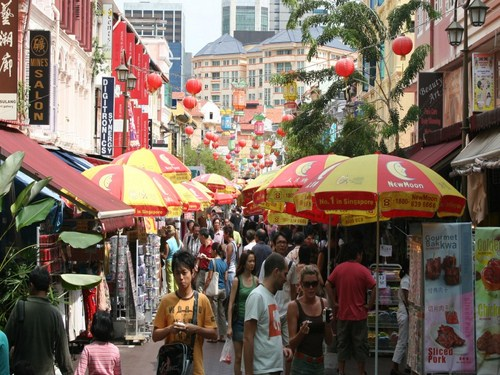 Visita Chinatown en Singapur