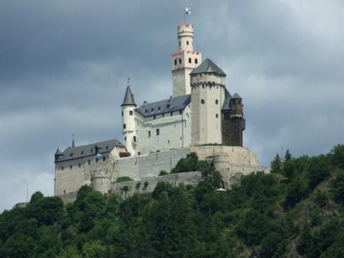 El Castillo de Marksburg en Alemania