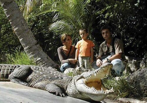 Croco Cun Zoo, paseando entre cocodrilos en Cancún 7