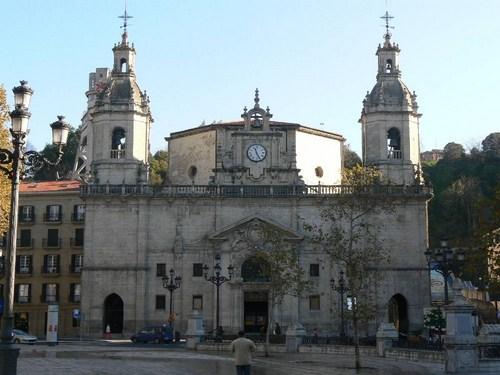 La Iglesia de San Nicolás en Bilbao