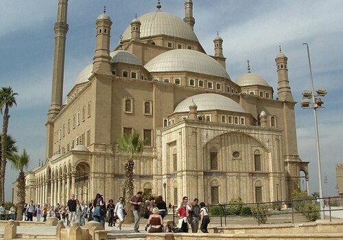 La Mezquita de Muhamad Ali en El Cairo 1