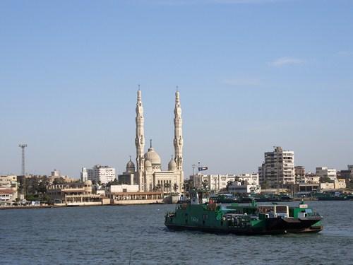 Puerto Said, una ciudad diferente en Egipto