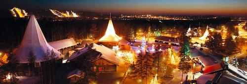 Santa Claus Village, en Laponia 1