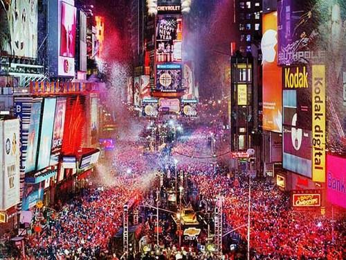 Celebrar Fin de Año en Times Square de Nueva York