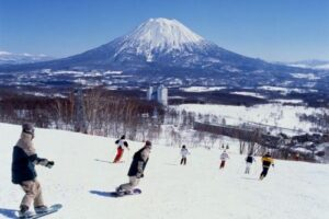 Esquiar en Niseko, Japón 5