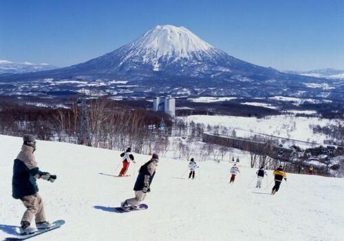 Esquiar en Niseko, Japón 1