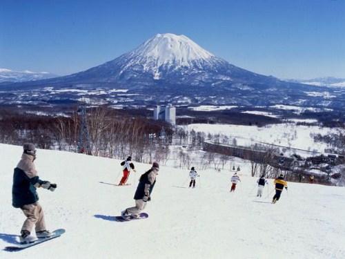Esquiar en Niseko, Japón