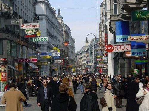 Váci Utca, la calle más importante de Budapest