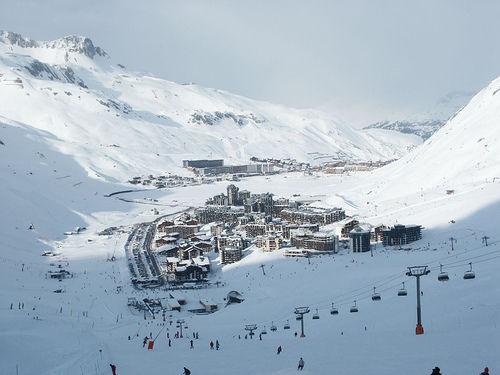 Lugares para esquiar en Francia