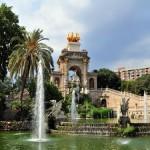 El Parque de la Ciudadela en Barcelona