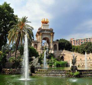 El Parque de la Ciudadela en Barcelona 2
