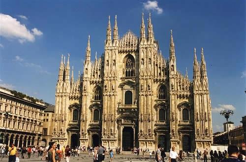 Catedral de Milán italia