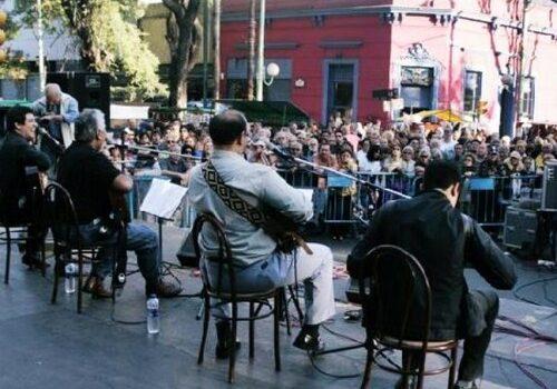 Mercadillos callejeros en Buenos Aires 2