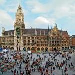 La Marienplatz de Múnich