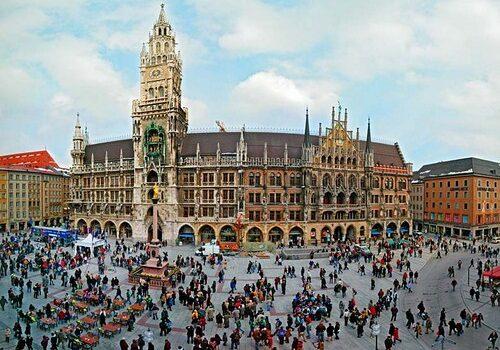 La Marienplatz de Múnich 3