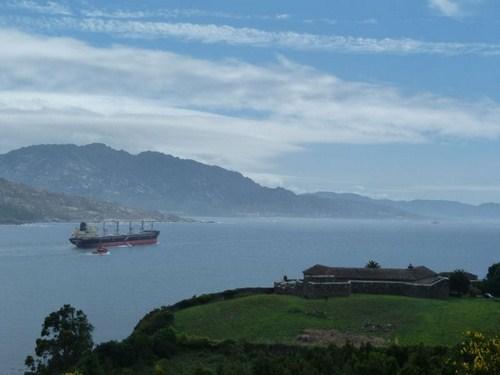 Rías en la Costa da Morte de A Coruña