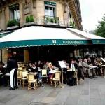 Comer en el Barrio Latino de París