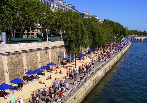 Paris Plage, playas en París 7