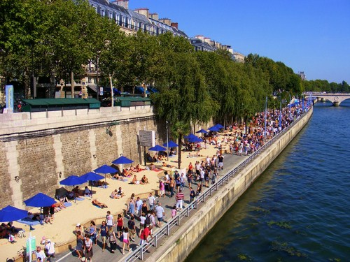 Playas en Paris