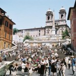 Paseo por las plazas de Roma
