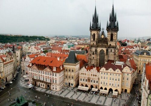 Un día en el casco antiguo de Praga 1