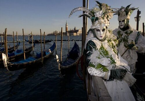 Eventos en el Carnaval de Venecia 1