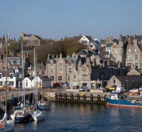 Lerwick, la ciudad vikinga de Escocia 1