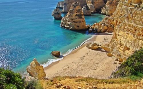 Cinco playas en el Algarve portugués 2