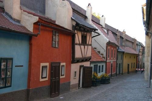 El Callejón del Oro en Praga 1