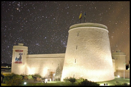 El Castillo de Santa Ana en Roquetas de Mar, Almería 4