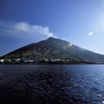 Stromboli, la isla del volcán en Sicilia