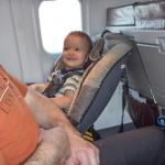 Consejos para volar con niños pequeños