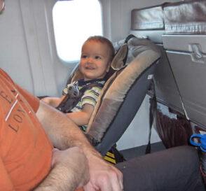 Consejos para volar con niños pequeños 1