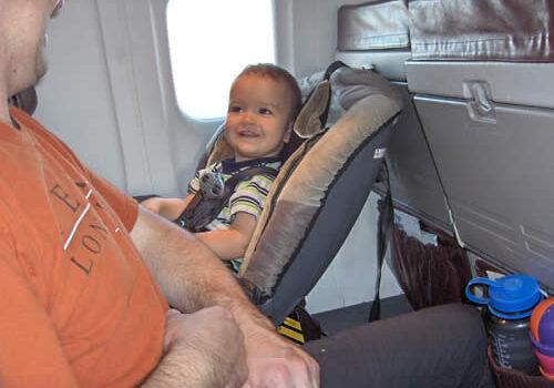 Consejos para volar con niños pequeños 3