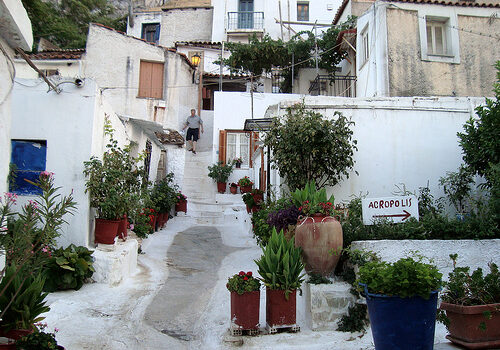Anafiotika, barrio con encanto en Atenas 1