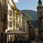 Bolzano, capital del Alto Adigio en Italia