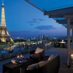 Tres hoteles de lujo y exclusivos en París