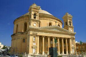 El milagro de la Catedral de Mosta en Malta 1