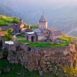 El Monasterio de Tatev en Armenia