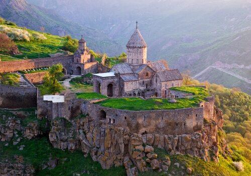 El Monasterio de Tatev en Armenia 1